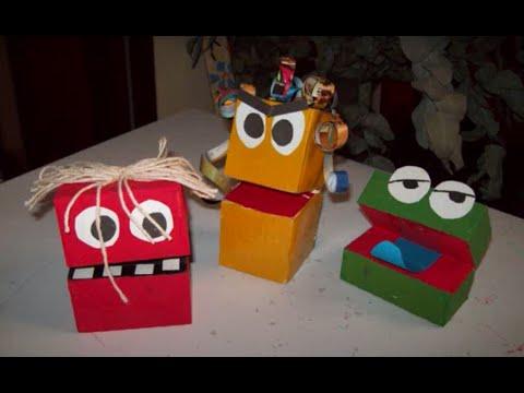 Vídeo aula da Maria Amora - Fantoche de caixa