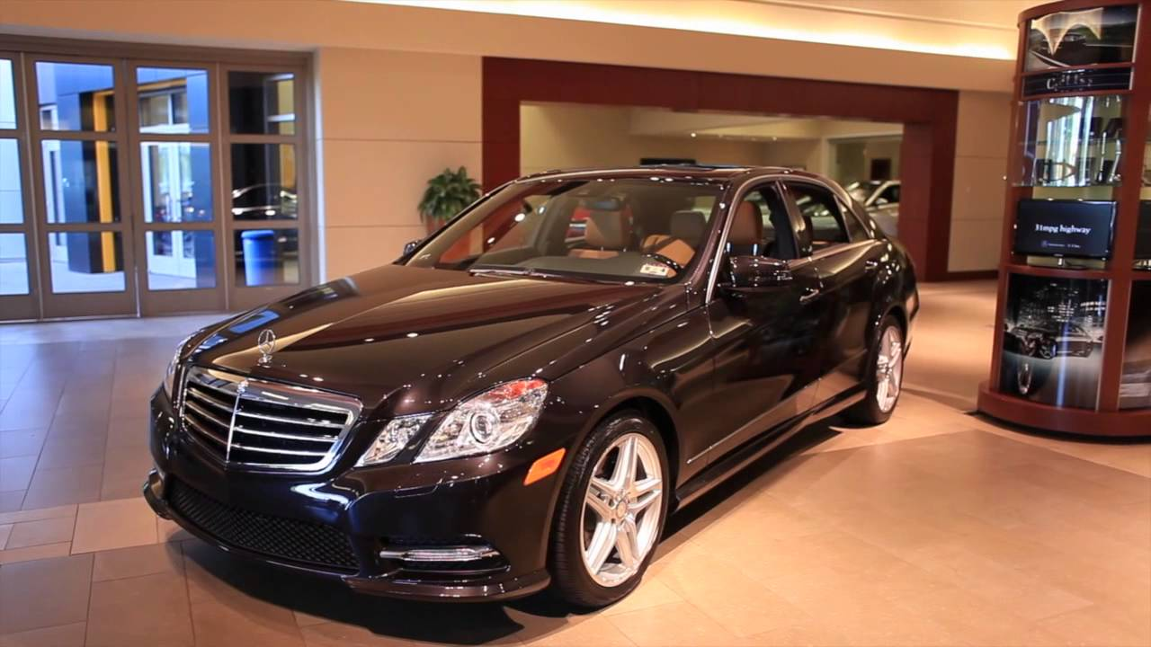 2013 mercedes benz e class overview with park place for Park place motorcars a dallas mercedes benz dealer