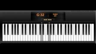 Naruto Música Funeral Hokage Virtual Piano