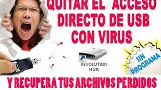 Desinfecta Y Recupera Archivos De Tu Memoria USB Dañada