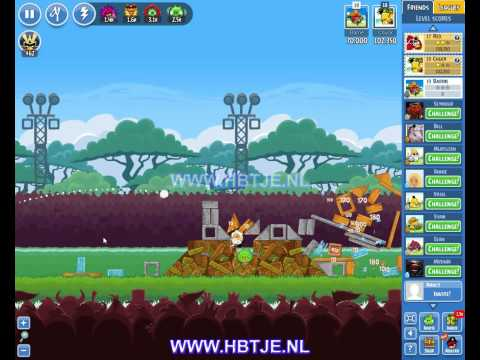 Angry Birds Friends Tournament Level 5 Week 134 (tournament 5) no power-ups