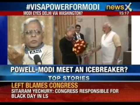 Nancy Powell- Narendra Modi meet, an ice breaker ?