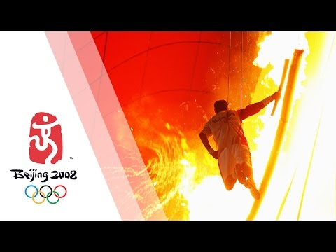 Opening Ceremony - Beijing 2008 Summer Olympic Games, The world watches in wonder as this glittering event raises the curtain on the Beijing 2008 Summer Olympic Games. http://www.olympic.org/multimedia-player/al...
