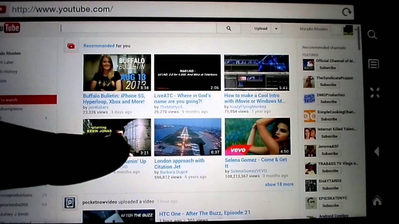 Kindle fire hd silk browser update 2013 youtube