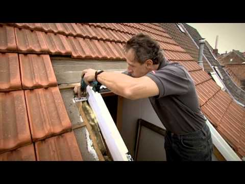 installatie nieuw velux dakvenster youtube. Black Bedroom Furniture Sets. Home Design Ideas