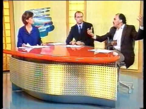 Jorge Mello no SPTV(com Brito Jr.) em 1999