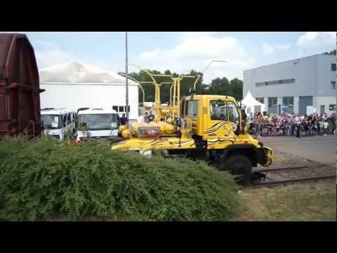 Unimog Rail-Show (Mercedes-Benz Werk Wörth)