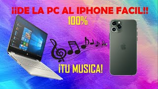 Pasar música de pc a iphone