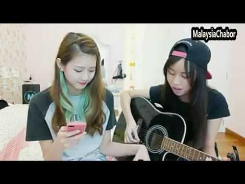 MALAYSIA CHABOR 翻唱[泡沫] by 女神Joyce Chu 四葉草 Cover