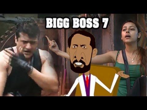 Armaan Kohli Fight Bigg Boss 7 17th September 2013 Episode
