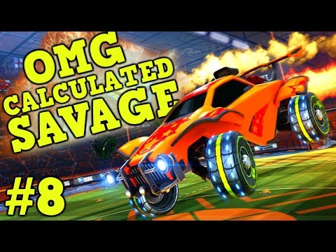 ROCKET LEAGUE: OMG, Calculated, Savage Moments! #8 Best Plays of The Week: Community & Pro Goals