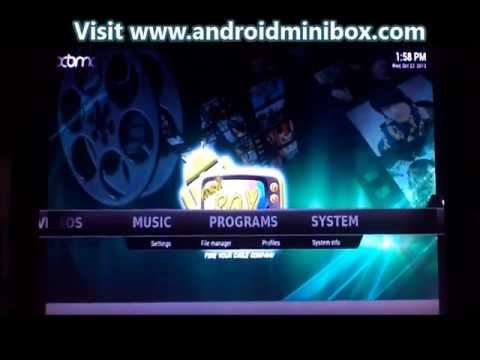 XBMC FREE Streaming Movies Set Top Box Commercial Free TV IPTV Arabic TV Box Apple TV Killer