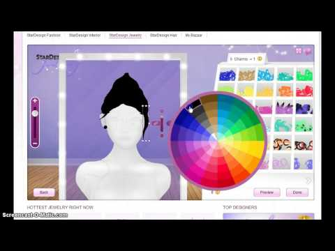 Stardoll Tutorials- Guy hair w/beanie,
