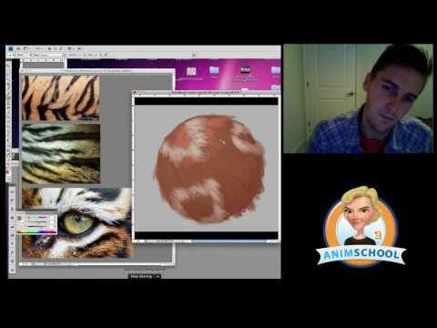 AnimSchool Classtime: Painting Texture and Fur with Ty Carter