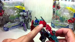 Transformers Prime Cyberverse Megatron & Optimus Prime