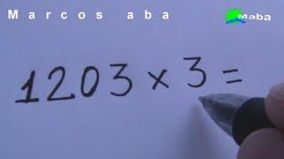 Multiplicação De Forma Rápida Matemática