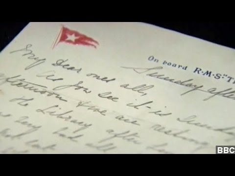 Final Letter Written Aboard Titanic To Be Auctioned