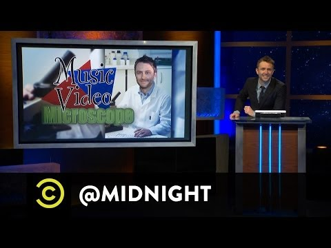 Rove McManus, Baron Vaughn, Adam Cayton-Holland - Music Video Microscope @midnight