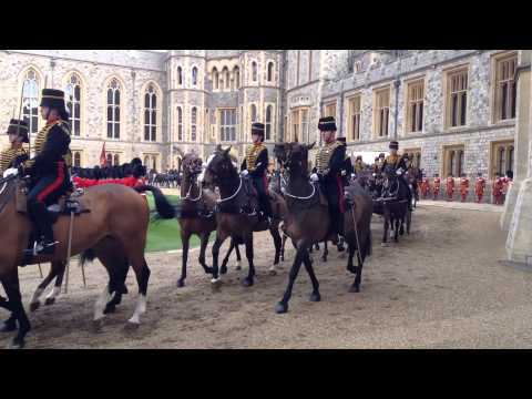 Highlights of President Michael D Higgins State visit to UK / Windsor Castle