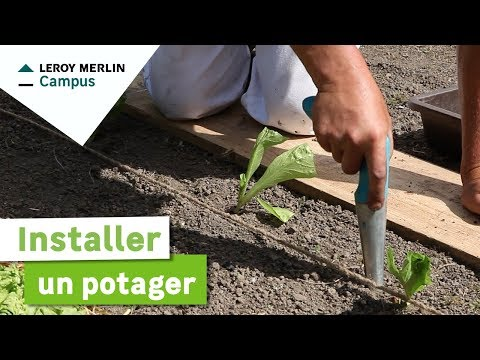 Comment installer un potager leroy merlin youtube for Installer un carre potager