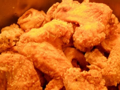 Houston City Deep Fried Cajun Chicken Wings. Complete Version.