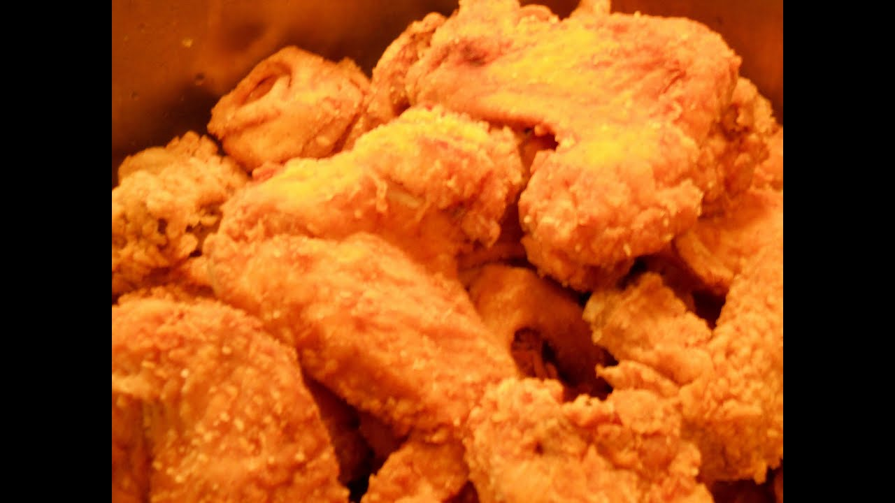 Houston City Deep Fried Chicken Wings. Complete Version. - YouTube