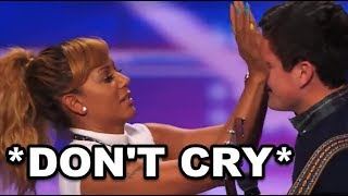 """EMOTIONAL Cleaner, Dead Brother & """"Little Sister"""" Made JUDGES CRY - X Factor Got Talent"""