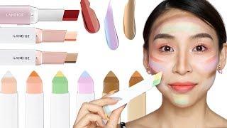 Full Face of Laneige Two Tone Makeup - TINA YONG