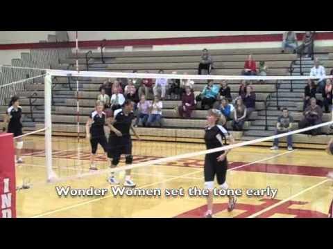 Wonderlab Wonder Women vs. IU Women's Basketball Staff Volleyball Highlights