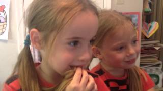 """Twins Watching Marines Sing """"Let It Go"""" From Frozen"""