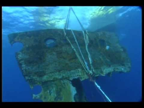Raising The Largest Piece Of Titanic To Ever Be Recovered