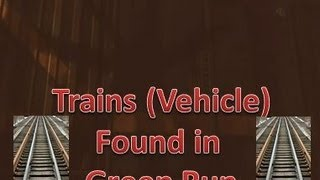 Trains On Tranzit Green Run?!?! New Tranzit Easter Egg