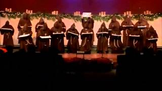 "Silent Monks Performing ""Hallelujah"" From ""Handel's"