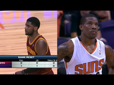 2014.03.12 - Kyrie Irving vs Eric Bledsoe Battle Highlights - Cavaliers at Suns