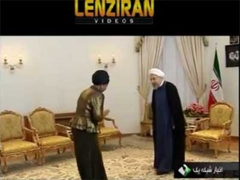 South African foreign minister meet Hassan Rohani and Javad Zarif !