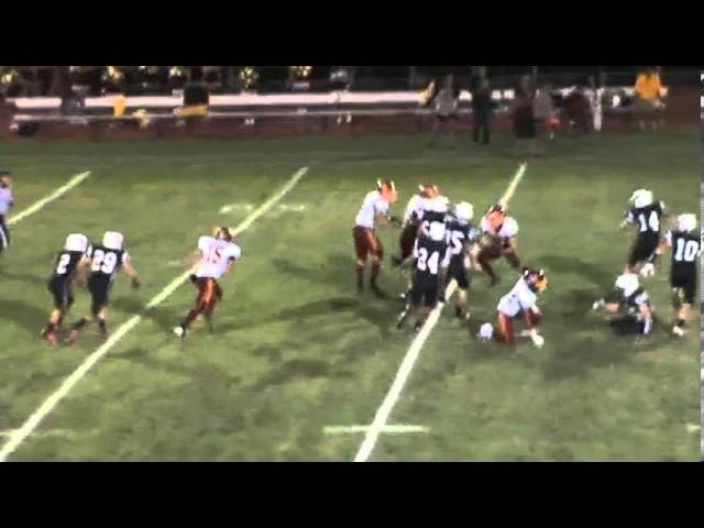 9-6-13 - It'a 51 yard punt return for Randy Baker (Fort Morgan 7, Brush 6)