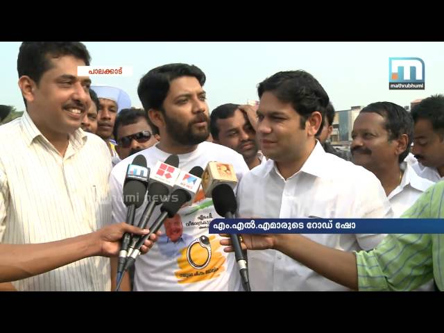 Young MLAs lead road show for Veerendra Kumar