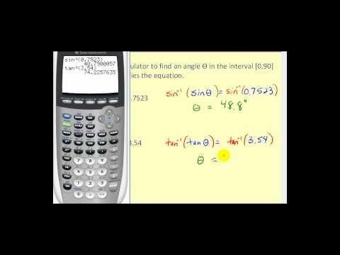 Introduction to Inverse Trigonometric Functions