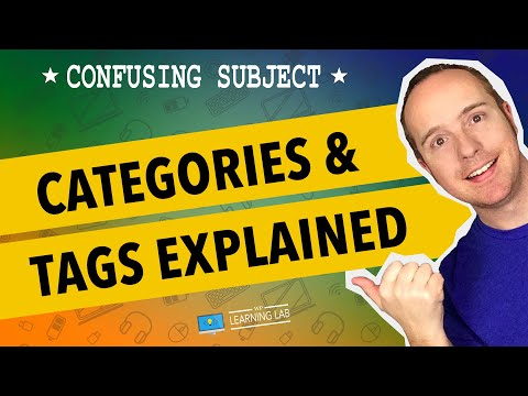 WordPress Categories and Tags Tutorial | WP Learning Lab
