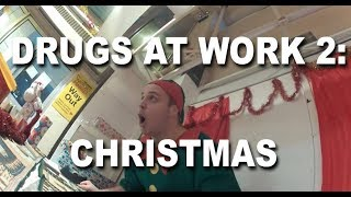 Guys Wraps Christmas Presents for Charity on Cocaine, LSD, and Ketamine