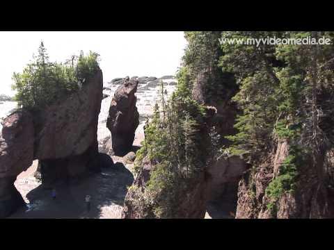 Hopewell Rocks, New Brunswick - Canada Travel Channel