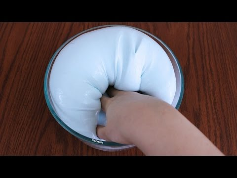 how to make slime without cornstarch borax or contact solution