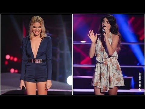 Fely Irvine Vs Mia Morrissey: Young And Beautiful | The Voice Australia 2014