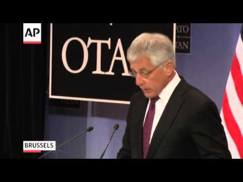 Hagel Urges Russia to Act Cautiously on Ukraine