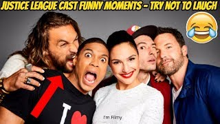 Justice League Bloopers and Funny Moments (Part-2) - Gal Gadot and Ben Affleck 2017