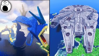 Top 10 Most AMAZING Minecraft Creations & Builds EVER!