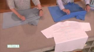 Cara melipat baju dalam waktu 2 detik