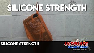 Silicone sealant strength