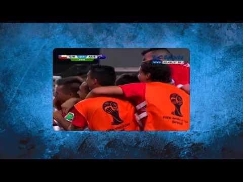 Gol de Beausejour - Chile 3-Australia 1