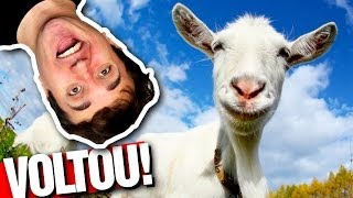 A CABRA VOLTOU! - Goat Simulator (parte 10)